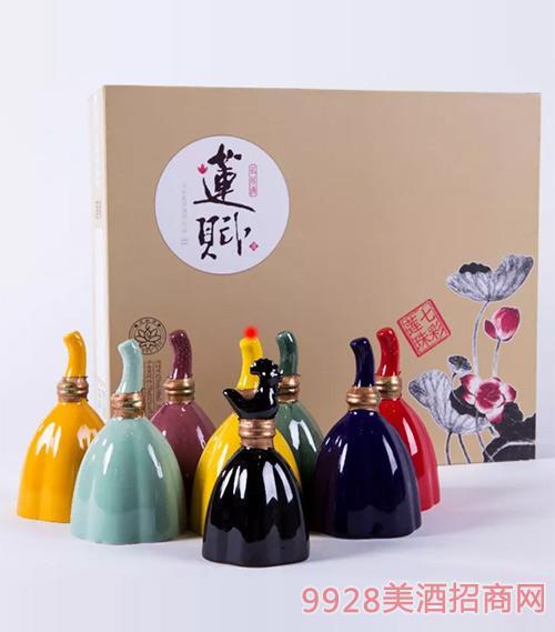 莲赋酒礼盒