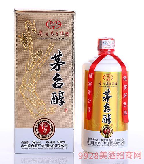 茅台醇酒中国梦52度500ml