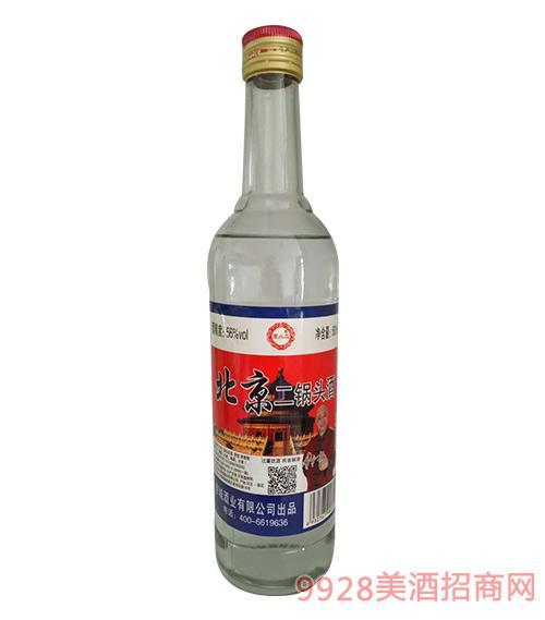 京小二北京二锅头酒56度500ml