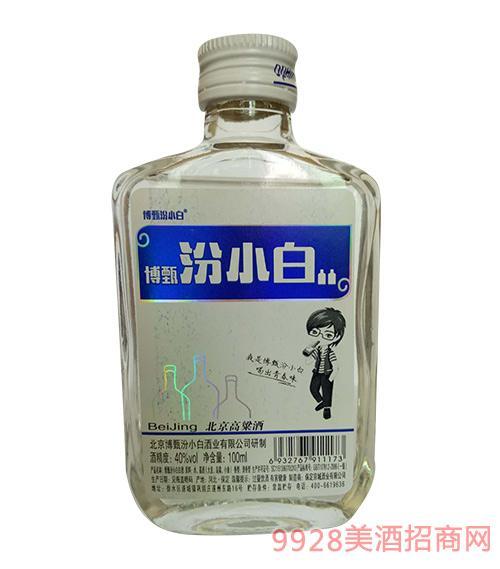 博甄汾小白酒(白盖)40度100ml