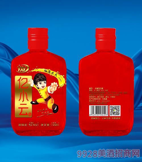 红瓶亿小云酒42度100ml