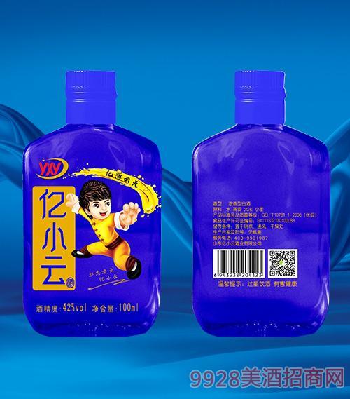 蓝瓶亿小云酒42度100ml