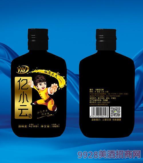 黑瓶亿小云酒42度100ml