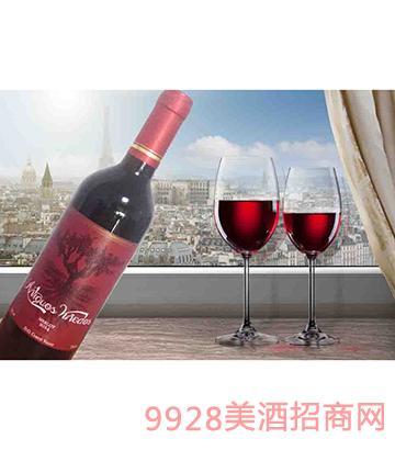 老葡藤美乐干红葡萄酒