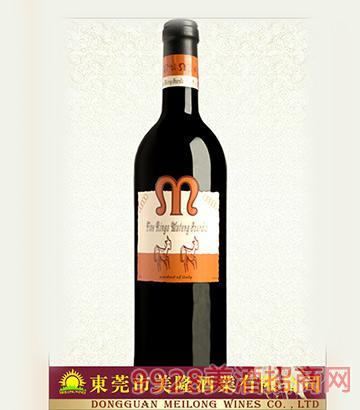 意大利五环木桐莱株干红葡萄酒