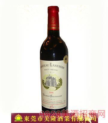 法国波尔多上梅多克朗珊城堡干红葡萄酒