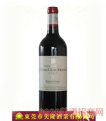 法国波尔多十字木桐古堡干红葡萄酒