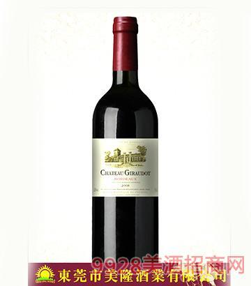 法国波尔多露斯卡城堡干红葡萄酒