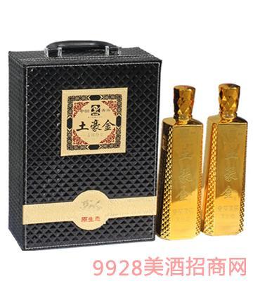 礼盒装原生态土豪金青稞原浆酒52度750ml