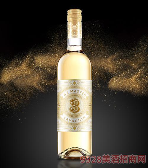 晚收萨瓦尼干白葡萄酒2017