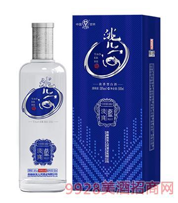 洮儿河酒淡爽38度500ml
