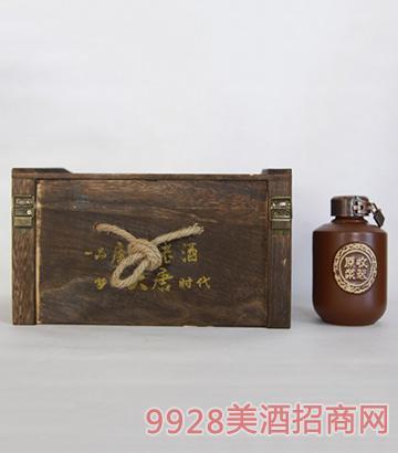 一品唐族老酒收藏原浆叁号
