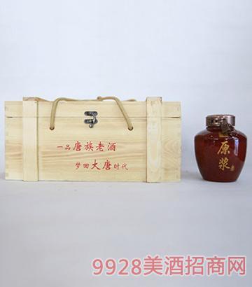 一品唐族老酒中国红原浆酒