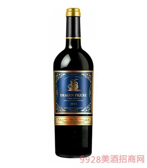 2014龙船图干红葡萄酒