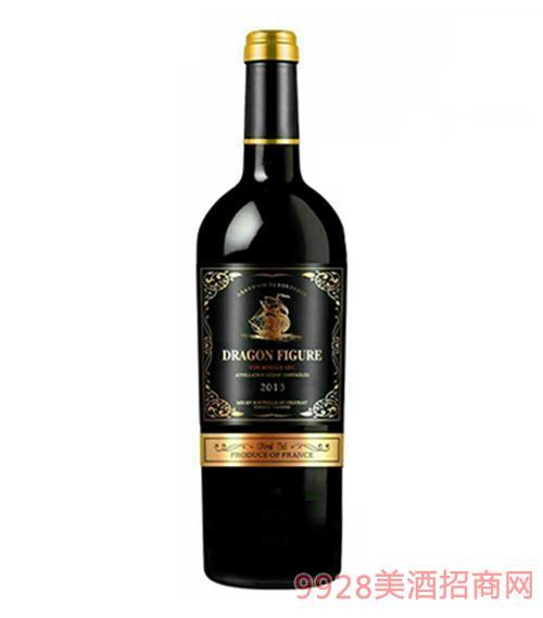 2013龙船图庄园干红葡萄酒