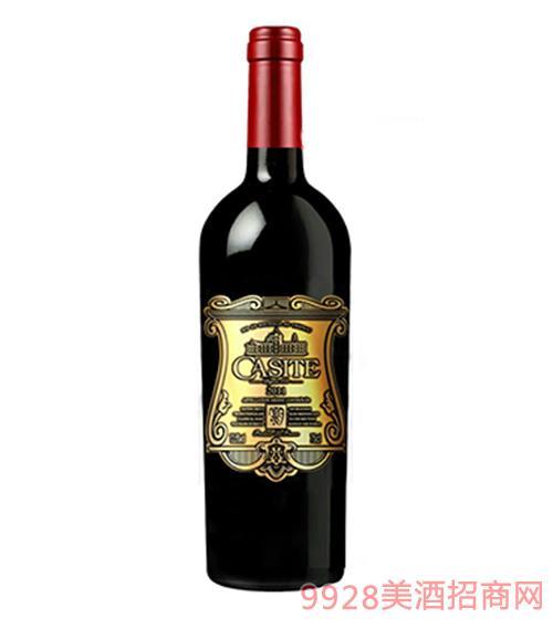 2011卡斯特西拉干红葡萄酒