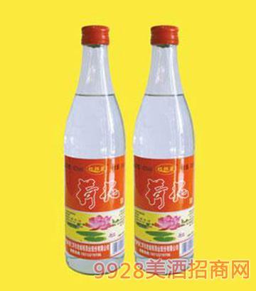 京水桥荷花酒瓶装红标