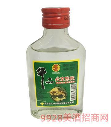 牛二北京陈酿酒42度100ml