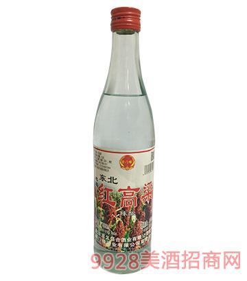 崇门楼红高粱陈酿酒42度500ml