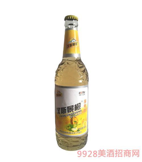汉斯景橙饮品·菠萝味