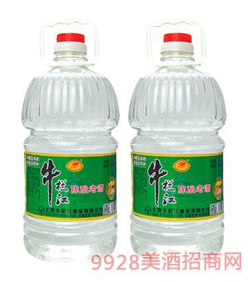 牛�诮���老酒43度5Lx4