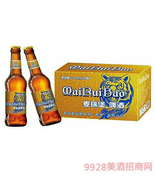 麦瑞堡啤酒金标330ml×24