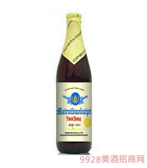 麦瑞堡原浆啤酒500ml