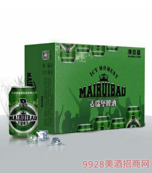 麦瑞堡原酿啤酒330ml×24