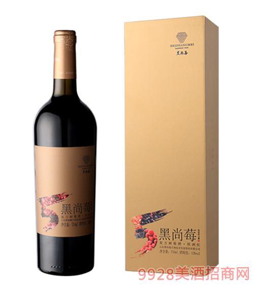 黑尚莓?#20998;?#32418;树莓酒