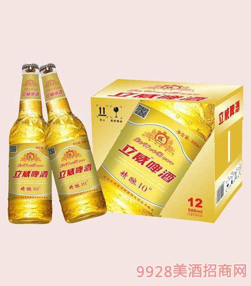立威啤酒精酿10度500ml×12