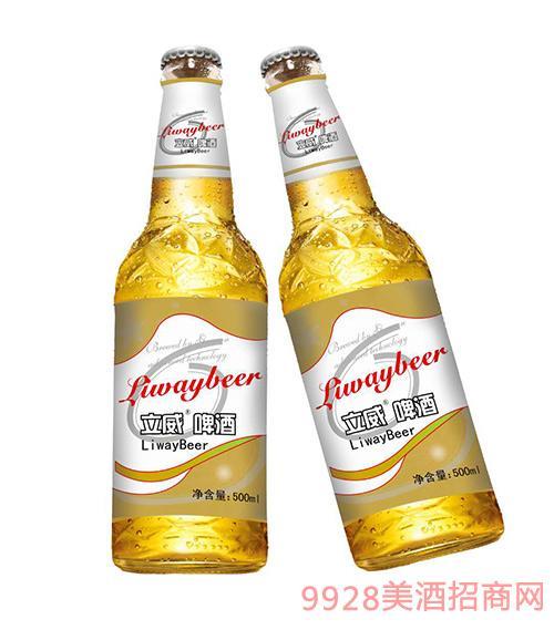立威啤酒瓶装500ml