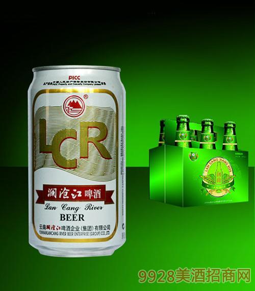 澜沧江罐装啤酒金标