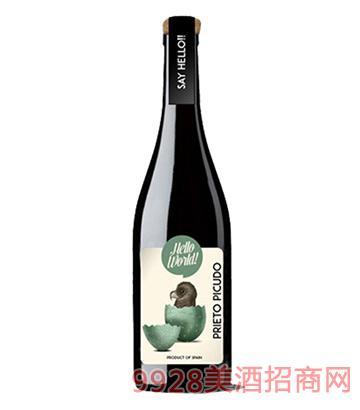 Hello!小鸭干红葡萄酒