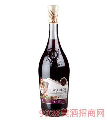 摩根皇后干红葡萄酒