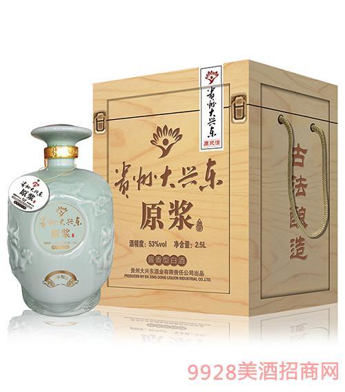 贵州大兴东酒原浆双龙1500ml