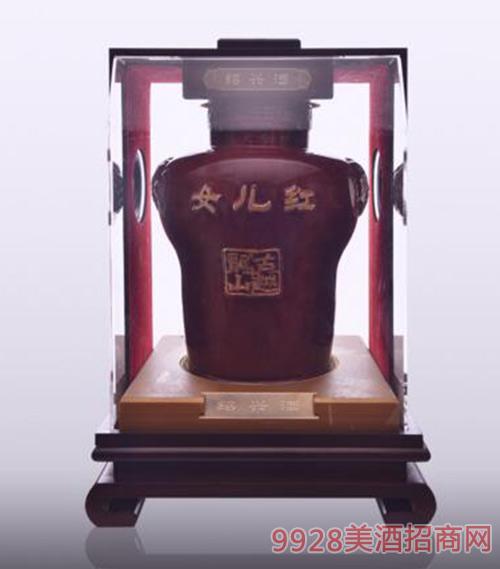 古越龙山原酒系列女儿红花雕酒25L