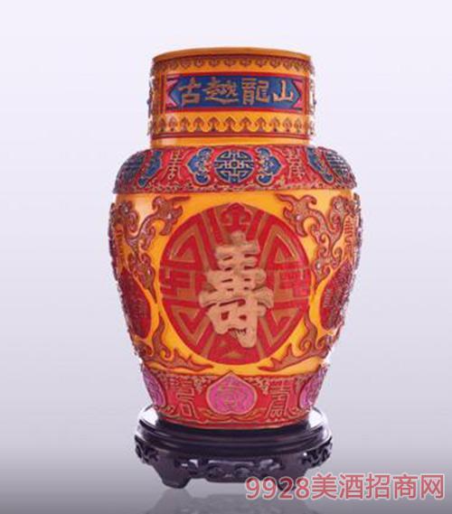 古越龙山工艺浮雕酒系列百寿浮雕酒10L