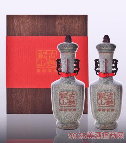 古越龍山高檔瓷瓶裝年份酒三十年陳經典花雕酒500ml