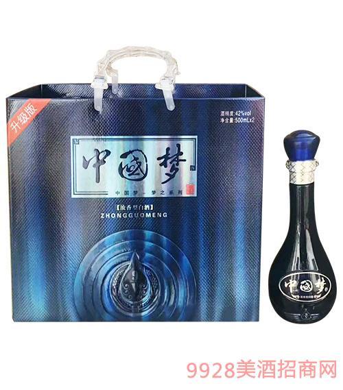 中国梦酒42度500mlx2
