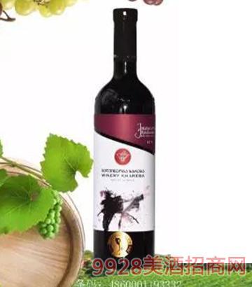 金兹玛拉乌里限量半甜红葡萄酒12.5度750ml