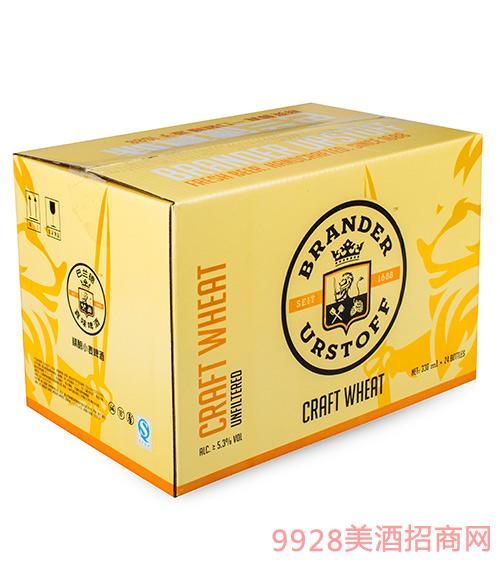 巴兰德真味精酿小麦啤酒(箱)330ml