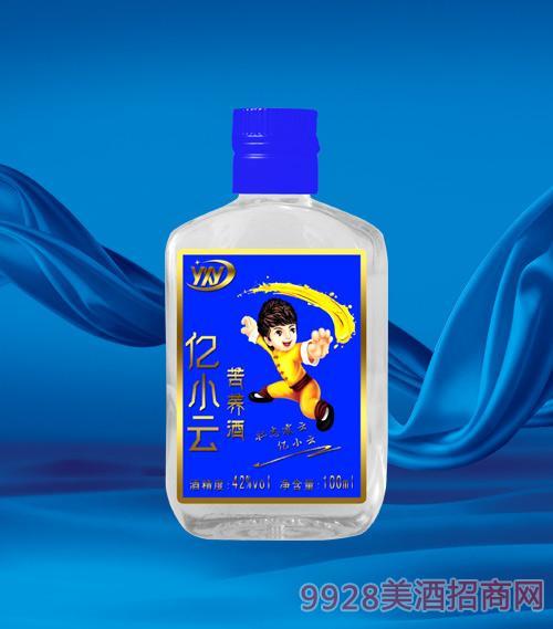 亿小云苦荞小酒蓝标42度100ml