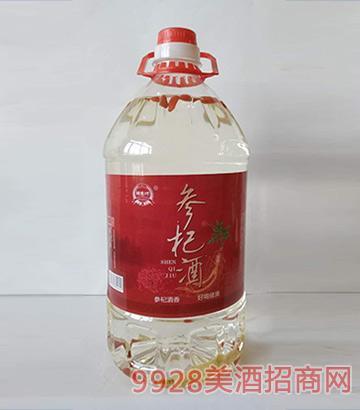 郑家坊参杞酒桶装(红)