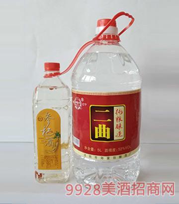 郑家坊二曲酒桶装(红)