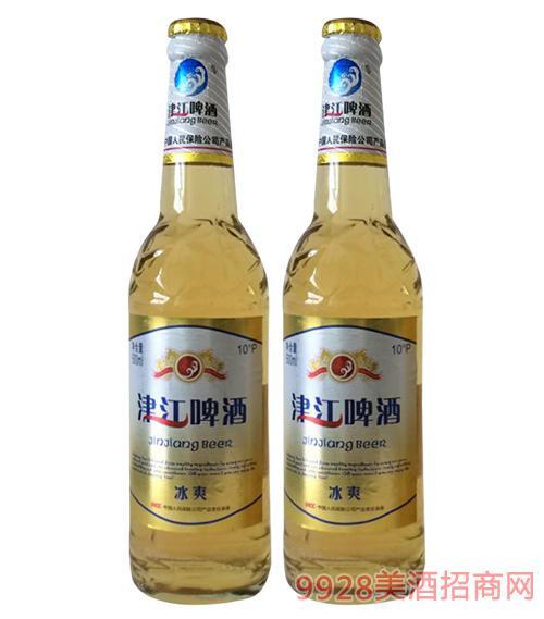 津江啤酒冰爽