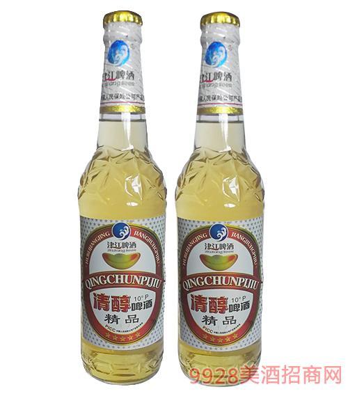 津江啤酒清醇啤酒精品10度