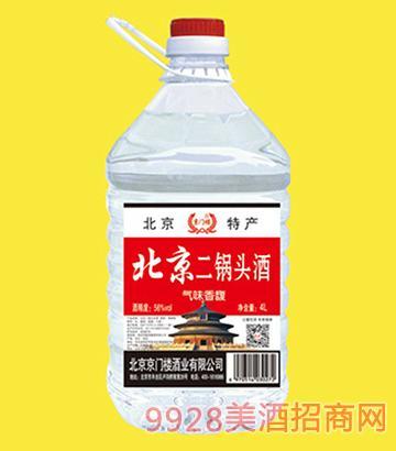 京门楼北京二锅头酒桶装56度4LX4