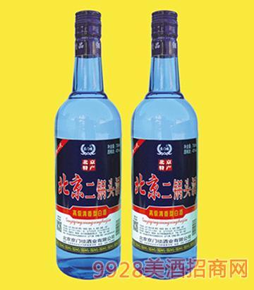 京门楼北京二锅头酒43度750mlx12
