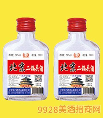 京门楼北京二锅头酒56度100mlx40