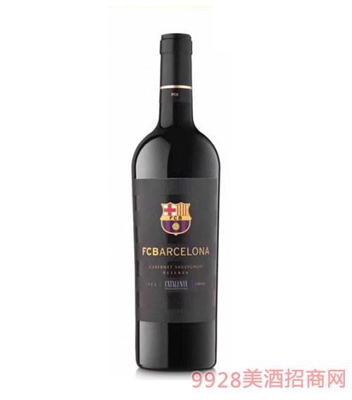 巴塞罗那足球俱乐部珍藏红葡萄酒